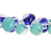 Lamp Bead Teardrop 50pc 10mm Blue/aqua